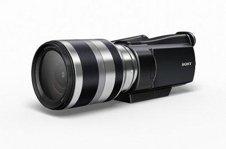 Sony llevará los objetivos intercambiables y sensores de tamaño APS-C a las videocámaras