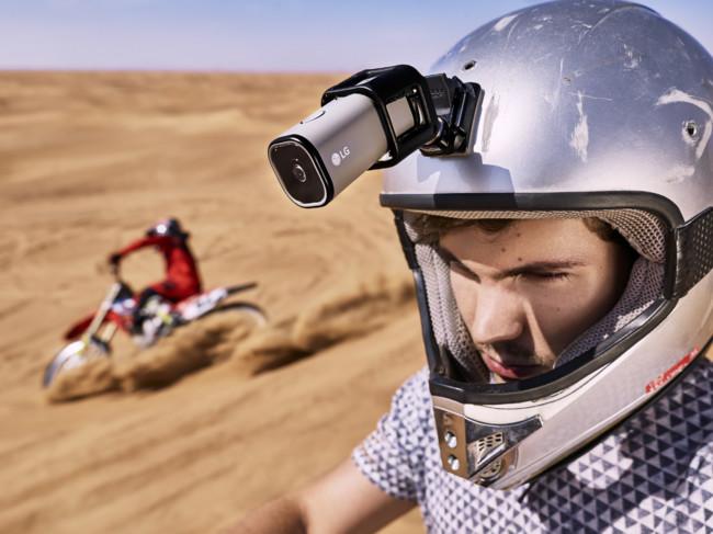 LG se mete en terreno GoPro, su LTE Action Camera retransmite en YouTube gracias a la conectividad 4G