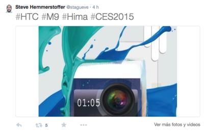 Se filtra posible render y nueva fecha para el HTC One M9 o Hima
