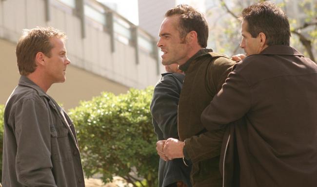 Jack Bauer y Stephen Saunders