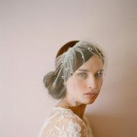 Tocados de novia para adornar tu cabeza con mucho estilo