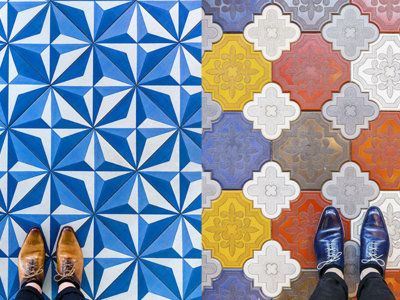 ¿Queda algo de Barcelona por fotografiar? Sí, sus suelos