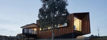 Oikos, una escultural casa de campo moderna y minimalista que nos lleva por un viaje visual por Australia