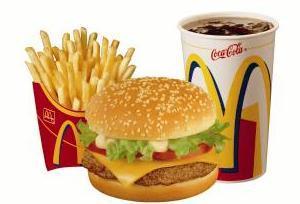 Análisis nutricional de un menú Big Mac