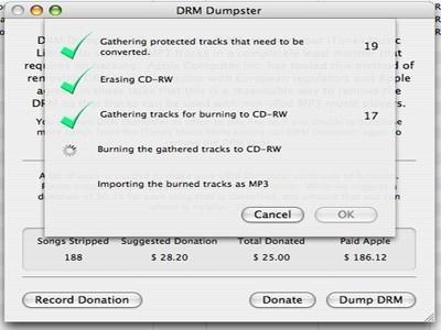 Elimina el DRM de iTunes con DRM Dumpster