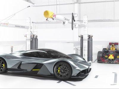 El AM-RB 001 romperá todos los esquemas: 0-300-0 km/h en 15 segundos y menos de 2:00 en Spa-Francorchamps