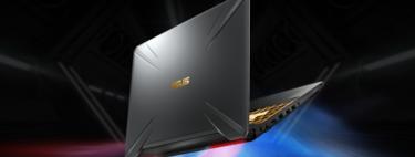 ASUS TUF Gaming FX505DV, más barato que nunca en Amazon: Ryzen 7 3750H, 16GB RAM, 512GB SSD y RTX2060 por 999 euros