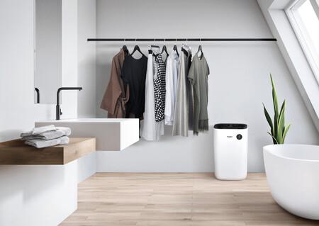 Whirlpool presenta sus nuevos deshumidificadores pensados para que puedas tender la ropa dentro de casa