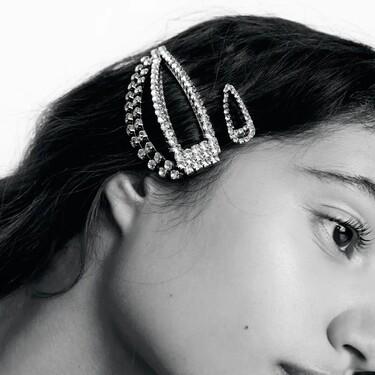 Cinco formas de lucir con mucho estilo horquillas de fiesta y cargadas de strass en nuestro pelo según Zara