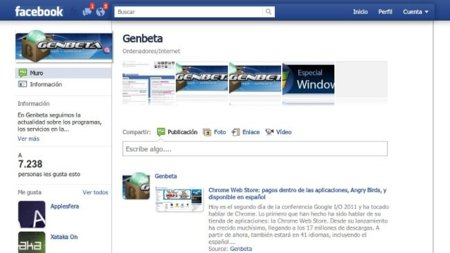 Quita los anuncios de Facebook y fija su barra superior en Chrome con Facebook Clear