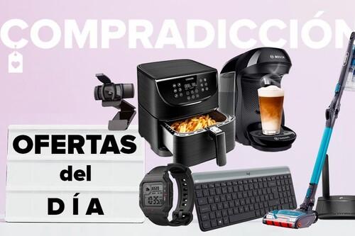 Ofertas del día en Amazon: routers 4G TP-Link, relojes Amazfit, periféricos Logitech, cafeteras de cápsulas Bosch o freidoras sin aceite Cosori a precios rebajados