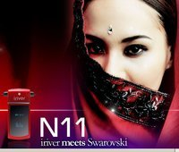 iRiver N11 con cristales Swarovski