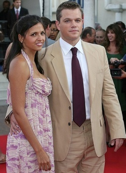 Matt Damon cumple 37 añitos