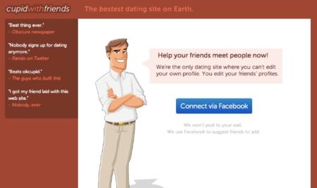 Cupid with friends, una vuelta de tuerca más a los servicios online para conseguir pareja