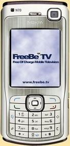 FreeBe tv: televisión gratis en tu móvil