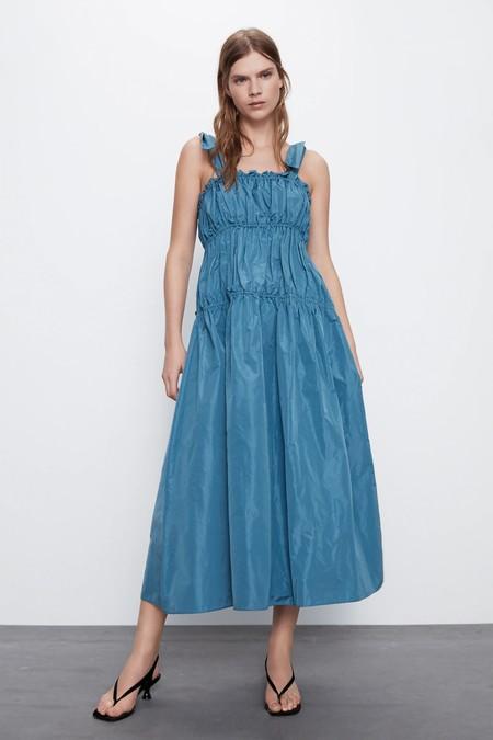 Vestidos Rebajas 2020 Zara Midi 01