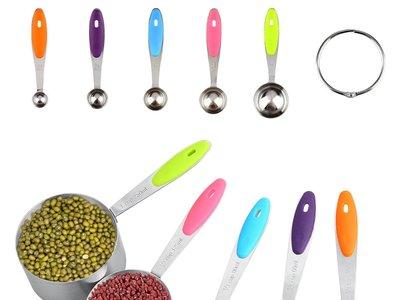 Oferta flash en set de 10 cucharas de medición para cocina Uten: cuestan 11,03 euros en Amazon hasta medianoche