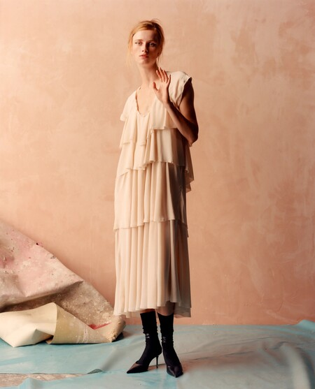 Zara Otono 2021 Novedades Blanco 01