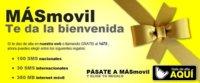 SMS e internet gratis para los nuevos clientes de MÁSmovil