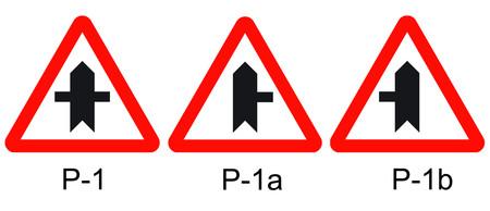 Tipos de señalización de advertencia de cruce