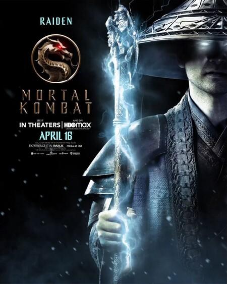 Mortal Kombat Character Poster Raiden