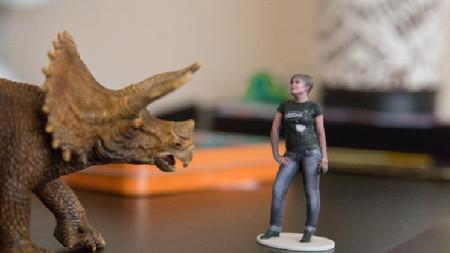 Crea una figura 3D de ti mismo con Kinect