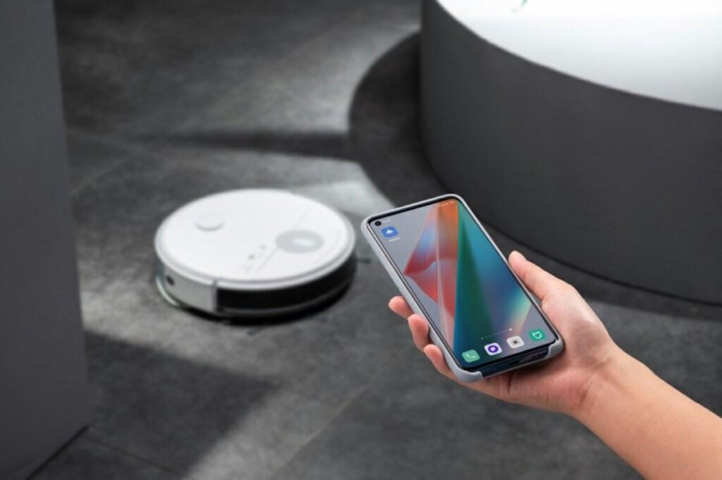 OPPO muestra una cientifica carcasa para verificar la TV, lámparas o robots de limpieza