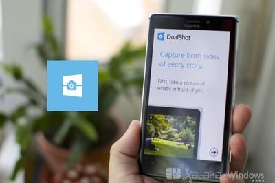 DualShot, aplicación captura dos fotos en una en tu Windows Phone