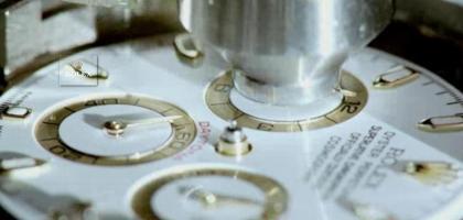 Rolex fabricación manual