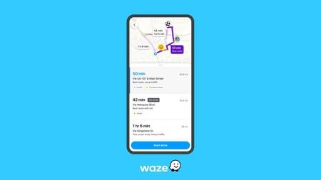 Waze añade opciones de ruta en México que se actualizan incluso antes de subirte a tu auto