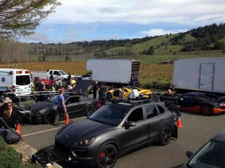 Need for Speed, la película, y los coches del rodaje