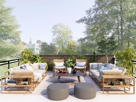 Los mejores muebles pequeños de terraza de Ikea para ponerle estilo a tus reuniones