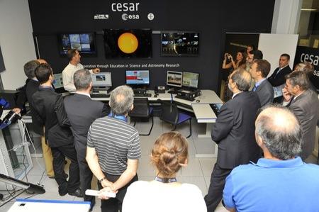 El proyecto CESAR de la ESA, INTA e INSA destina el uso de cinco telescopios a fines educativos