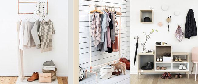 Ideas y tendencias para crear un recibidor con estilo n rdico - Recibidores con estilo ...