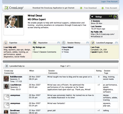 CrosLoop, ahora con funciones de red social