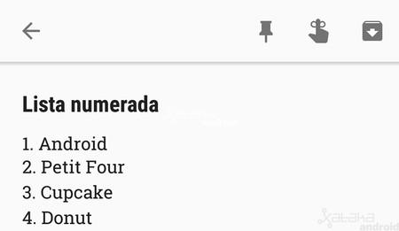 Google Keep para Android ya te permite crear listas numeradas, te explicamos cómo