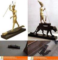 El Museo Nacional de Egipto después del saqueo