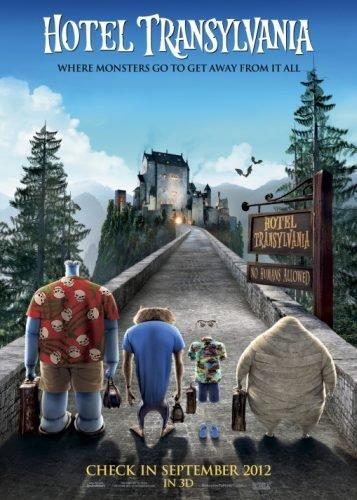 El póster de Hotel Transylvania