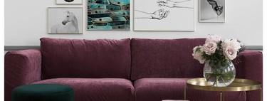 Revisando el salón, ¿qué hay en la pared en la que apoyas el sofá? (y te advertimos de que nada no es una opción)