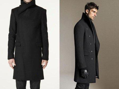 Como se llaman los abrigos largos para hombre