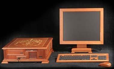 El ordenador de madera