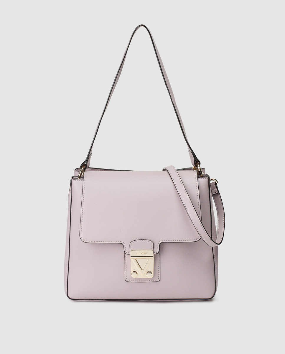 Bolso de hombro Valentino en lila con dos asas medias
