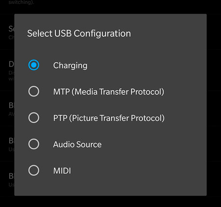 MTP or Multimedia Device