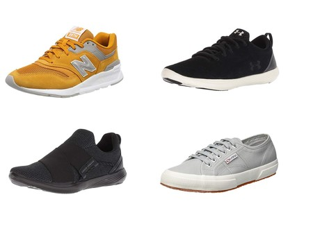 Chollos en tallas sueltas de zapatillas New Balance, Under Armour o Superga en Amazon
