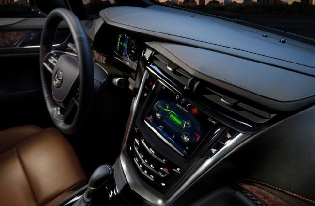 Cadillac ELR, sistema CUE