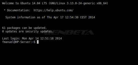 Ubuntu 14.04 Server