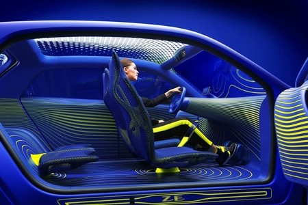 Renault Twin'Z Concept-Car, vista interior