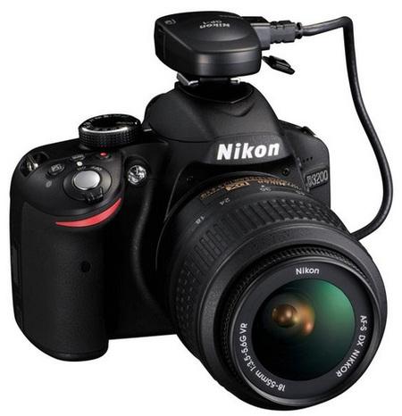 Nikon D3200 con adaptador WiFi