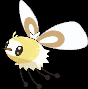 Pokemon Sol Luna Cutiefly