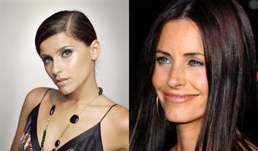 Separados al nacer: Nelly Furtado Vs. Courtney Cox